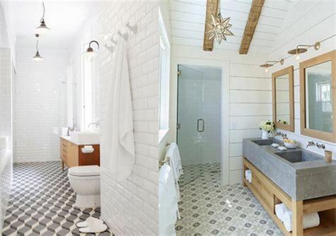 20 inspirations pour des carreaux de ciment bathroom ideas bathroom inspiration and cement tiles