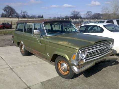 1971 jeep wagoneer 1971 jeep wagoneer information and photos momentcar