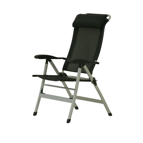 10t easychair aluminium cing chair high back incl