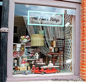 All, That, U0026, 39, S, Vintage, Storefront, Window, Displays