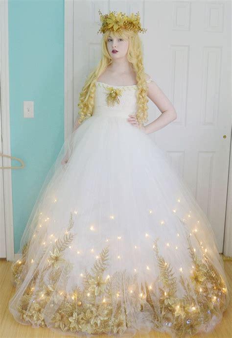 a costume part two dress diy light and dress tutorials