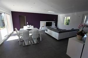 Deco Salon Blanc Et Gris : decoration sejour gris et blanc digpres ~ Zukunftsfamilie.com Idées de Décoration