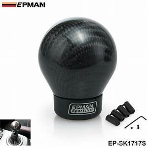 Epman Carbon Shift Knob For Manual  Automatic Car Real
