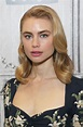 """Lucy Fry - Discussing """"Godfather of Harlem"""" at BUILD ..."""