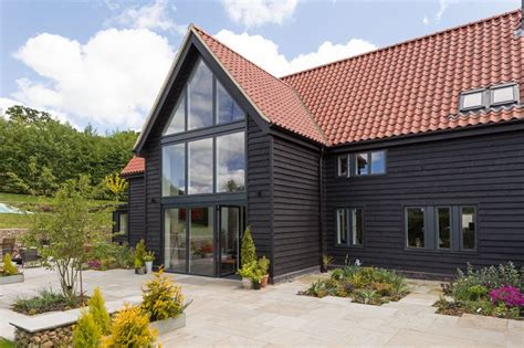 Converted Barn Sited Open Countryside by Barn Conversions Architectural Design Services In Birmingham