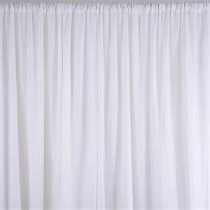 20ft x 8ft White Professional BACKDROP Background