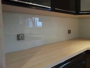 Crédence Cuisine En Verre : credence en verre cuisine credence cuisine verre with ~ Premium-room.com Idées de Décoration