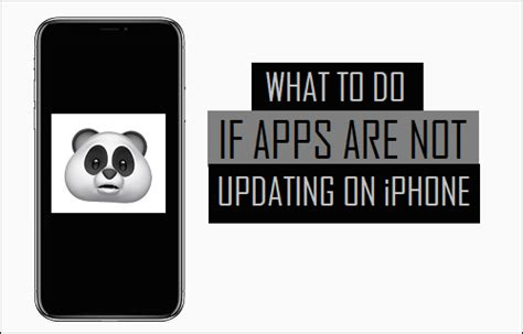 iphone apps not updating what to do if apps are not updating on iphone