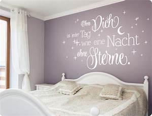 Schlafzimmer Romantisch Dekorieren : schlafzimmer wanddeko ideen ~ Markanthonyermac.com Haus und Dekorationen