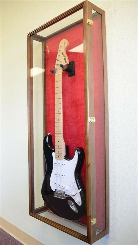 Clear Viewing Guitar Display Case Fender Acoustic Electric