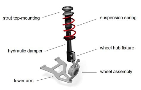 fig   schematic view   mcpherson front strut