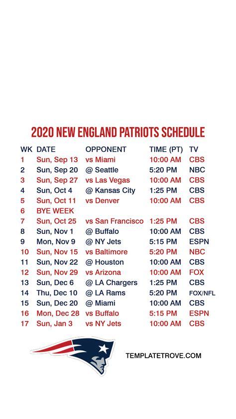england patriots lock screen schedule