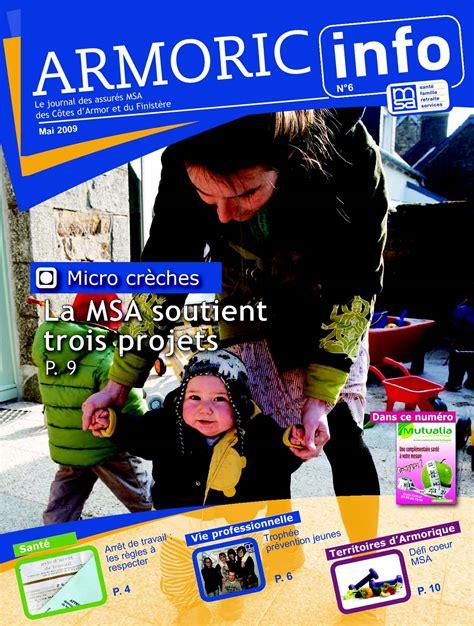 msa siege social calaméo armoric info n 6 mai 2009