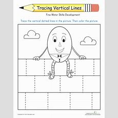 Prewriting Skills Tracing Lines  Lesson Plan Educationcom