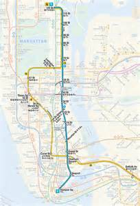 2nd Ave Subway Line Map