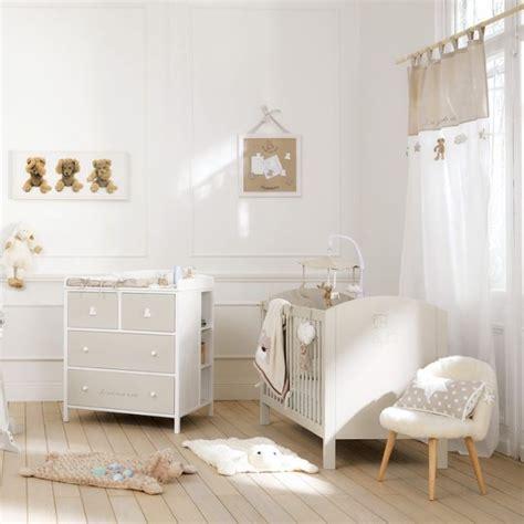 chambre bébé neutre décoration chambre bébé beige