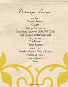 48 best images about wedding entourage on pinterest With wedding invitation format with entourage
