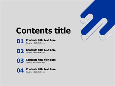 blue powerpoint template goodpello