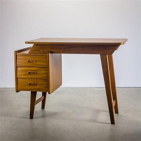 jaren 60 teak bureau desk barbmama
