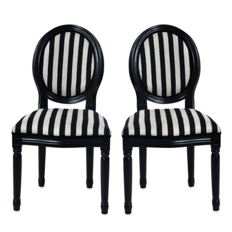 furniture alluring black and white striped chair bring
