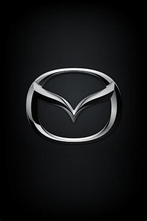 Mazda Iphone Wallpaper mazda logo iphone ipod touch android wallpapers