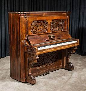 Steinway & Sons Victorian Upright Piano – Antique Piano Shop
