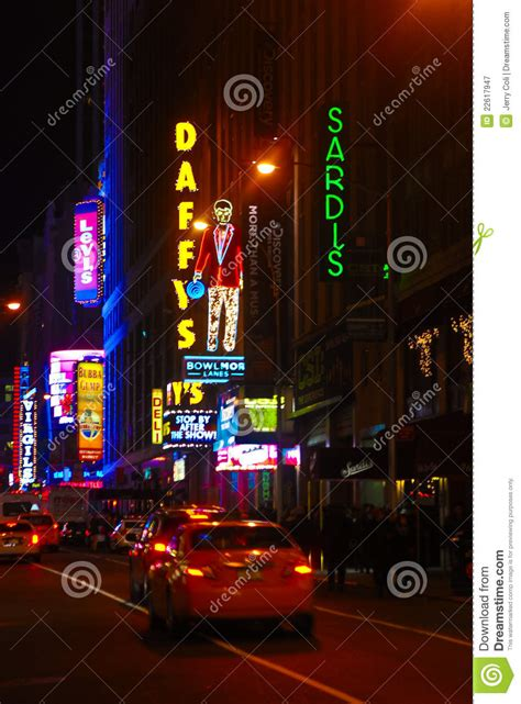 light the night nyc neon lights of manhattan nyc editorial photography