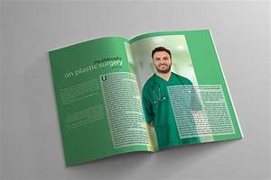 Health and medical magazine template on behance for Magazine templates for pages