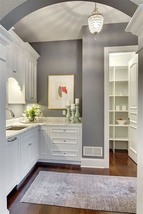 25 best ideas about grey kitchen walls on