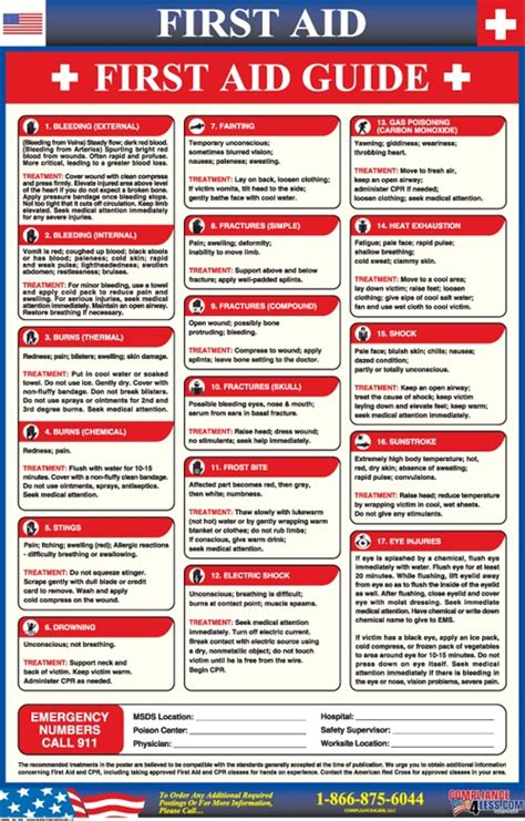 aid guide poster