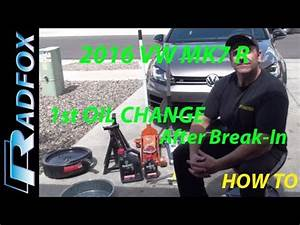 Golf R Break : 2016 golf r mk7 first oil change after break in youtube ~ Medecine-chirurgie-esthetiques.com Avis de Voitures