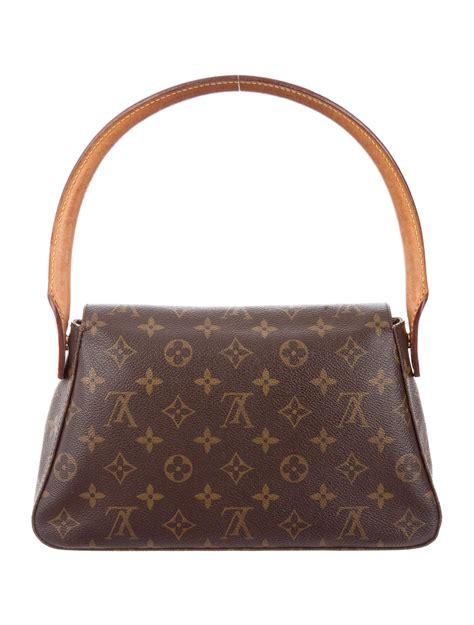 louis vuitton monogram mini looping bag handbags lou  realreal
