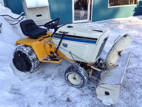 Sled Deck R Build by 1986 International Cub Cadet 1810 With Blower Deck And