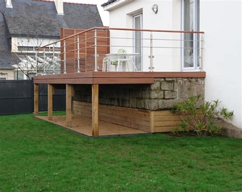 quelle demande pour construire une terrasse tourville la cagne