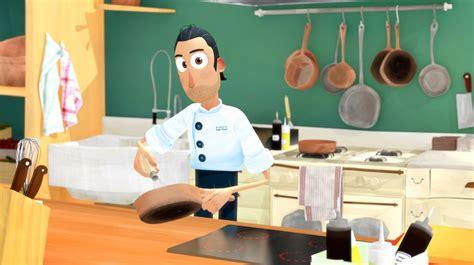 cuisine dessin animé un dessin animé pour apprendre aux enfants à cuisiner