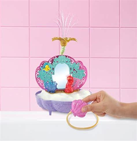 disney princess ariel s flower shower bathtub accessory