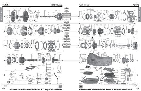 A4ld Transmission Overhaul Diagram by General Motors Ganzeboom