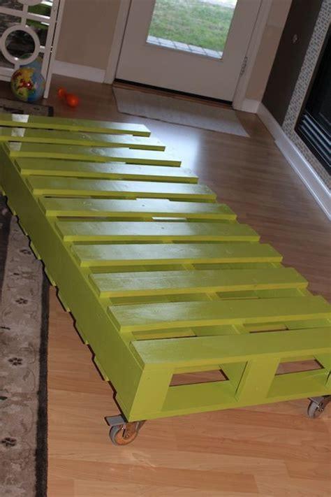 twin bed   pallets  add  diy headboard