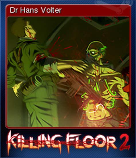 killing floor 2 dr hans volter steam trading cards