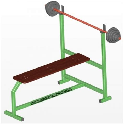 home bench press olympic flat bench press plans