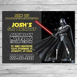 Free Printable Star Wars Birthday Party Invitations Templates Invitation Drevio