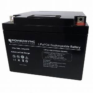 Batterie 12 Volts : 12 volt lithium battery lifepo4 26ah powerpro ~ Farleysfitness.com Idées de Décoration
