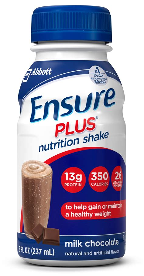 Amazon.com: Ensure Plus Nutrition Shake, Milk Chocolate, 8