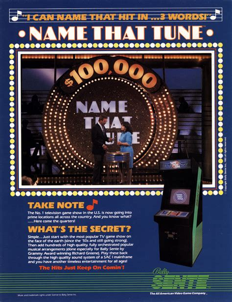 Name That Tune — StrategyWiki, the video game walkthrough ...