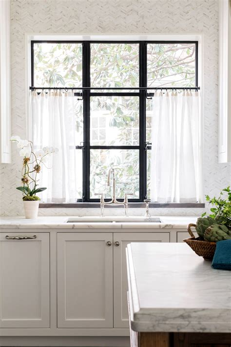 the brookhaven project cafe curtains kitchen kitchen