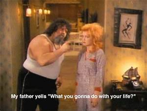 1983 girls just want to have fun cindy lauper Lou Albano ...