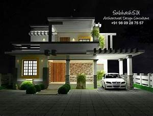 Modern, Concept, Home, Design, 1600, Sq, Ft