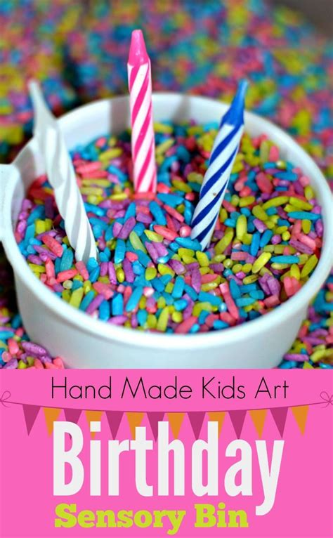 birthday sensory bin activities birthdays and sensory bins 846 | 02e15840462cb85d7c3418c5a0569813