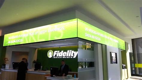 Fidelity Investments LED Display-155 Congress Street ...