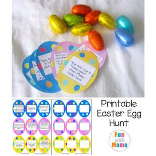 with activities and toddler activities 271   printable easter egg hunt clues 320x320